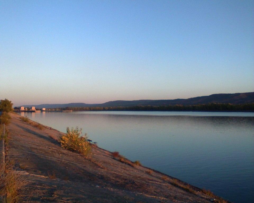 Великая река Волга.
